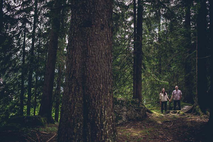 Aroa + Andrés: Preboda en Suiza