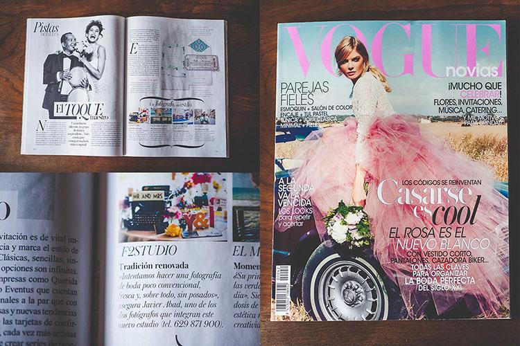 F2studio y Vogue Novias